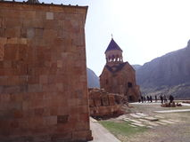 Noravank, 13ο αρμενικό μοναστήρι Στοκ εικόνα με δικαίωμα ελεύθερης χρήσης