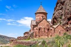 Noravank Armenien: royaltyfri bild