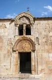 Noravank De centrale ingang aan de kerk van John Doopsgezind Royalty-vrije Stock Foto