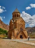 NORAVANK-KLOSTER, ARMENIEN - 02 AUGUSTI 2017: Noravank kloster Arkivfoto