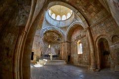 NORAVANK-KLOSTER, ARMENIEN - 02 AUGUSTI 2017: Inre Noravank Mo Royaltyfri Bild