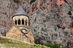 Noravank kloster från det 13th århundradet i Armenien Arkivbild
