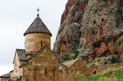 Noravank kloster från det 13th århundradet i Armenien Royaltyfria Bilder