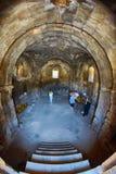 NORAVANK monaster, ARMENIA - 02 2017 SIERPIEŃ: Wnętrze Norav Zdjęcie Stock