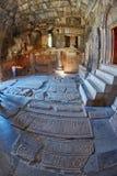 NORAVANK monaster, ARMENIA - 02 2017 SIERPIEŃ: Wnętrze Norava Zdjęcie Stock