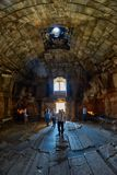 NORAVANK monaster, ARMENIA - 02 2017 SIERPIEŃ: Wnętrze Norava Fotografia Royalty Free