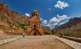NORAVANK monaster, ARMENIA - 02 2017 SIERPIEŃ: Noravank monaster Zdjęcia Royalty Free