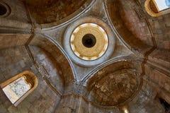 NORAVANK monaster, ARMENIA - 02 2017 SIERPIEŃ: Inside Noravank Mo Zdjęcia Stock