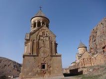 Noravank, monastero armeno del XIII secolo immagine stock libera da diritti