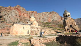Noravank Monastery Complex stock video