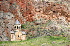 Noravank monastery in high mountains Royalty Free Stock Images
