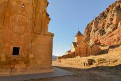 Noravankklooster van 13de eeuw, Armenië stock foto