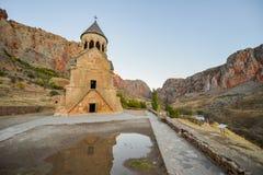 Noravankklooster van 13de eeuw, Armenië stock foto's