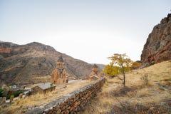 Noravankklooster van 13de eeuw, Armenië royalty-vrije stock afbeelding