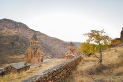 Noravankklooster van 13de eeuw, Armenië royalty-vrije stock afbeeldingen
