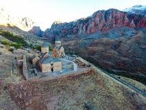 Noravankklooster van 13de eeuw, Armenië stock afbeeldingen