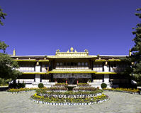 Norbulingka Palace in Tibet Stock Photography