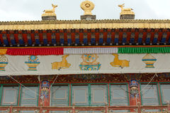 The Norbulingka Park in  Lhasa Royalty Free Stock Photos