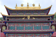 The Norbulingka Park in  Lhasa Royalty Free Stock Photography