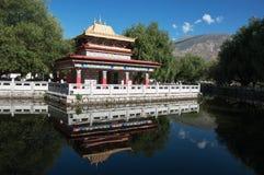 Norbulingka przy Lhasa obraz royalty free