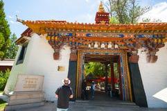 Norbulingka summer palace Stock Photos