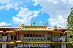 Norbulingkaen parkerar i Lhasa Royaltyfri Fotografi