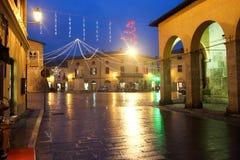 Norcia in Italië Stock Afbeeldingen