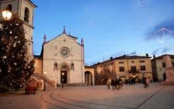 Norcia, Italia fotografie stock