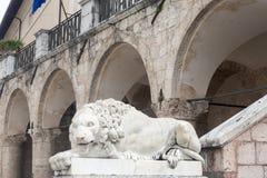 Norcia (Italia) Fotografia Stock