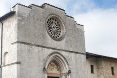 Norcia (Italien) Lizenzfreies Stockfoto
