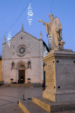 Norcia in Italy Stock Photos