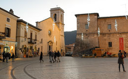 Norcia in Italy Royalty Free Stock Images