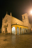 Norcia by night Stock Image