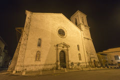 Norcia by night Stock Photo