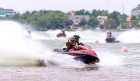 Nordöstliche Thailand Meisterschaft 2015 Jetski Lizenzfreie Stockbilder