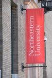Nordöstra universitet i Boston, Massachusetts royaltyfri bild