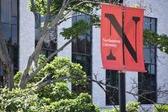 Nordöstra universitet i Boston, Massachusetts royaltyfria foton