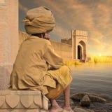 Nord av Indien Arkivfoto