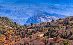 Nord Carolina della roccia di vetro di sguardo Immagini Stock