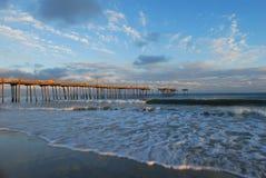 Nord-Carolinafischen-Pier stockbild