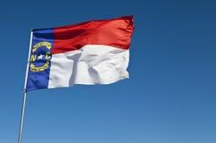 Nord-Carolinamarkierungsfahne Lizenzfreie Stockfotografie