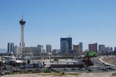 Nord de la meilleure qualité de débouchés de Las Vegas, zone métropolitaine, ville, zone urbaine, horizon Photographie stock libre de droits