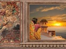 A nord dell'India Immagini Stock