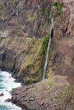 Nord della cascata della Madera Fotografia Stock