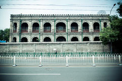 Nord-dongsi Allee Peking Stockfoto