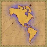 Nord ed il Sudamerica royalty illustrazione gratis