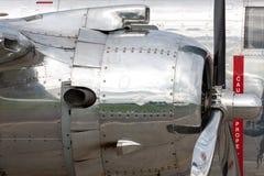 Nord för tappning för världskrig II - flygplan för amerikan B-25 Mitchell Bomber fungerings av flygatjursamlingen arkivbild