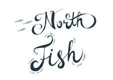 Nord-fith Beschriftung Lizenzfreies Stockbild