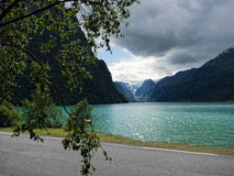 Nord fjord, Norway Royalty Free Stock Images