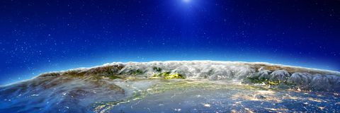 Nord-Indien - Himalaja lizenzfreie abbildung